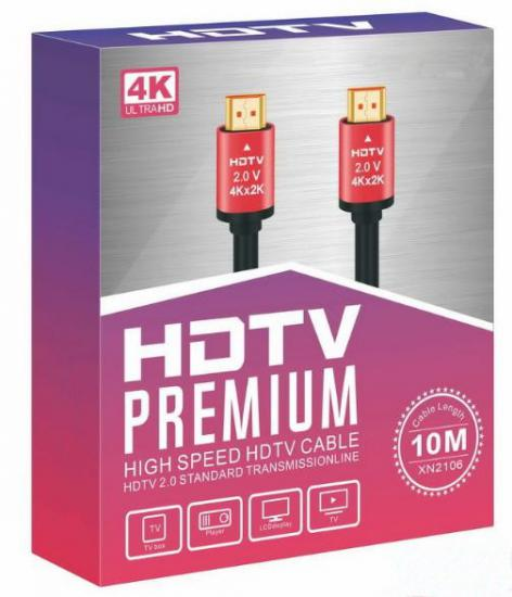 4K HDTV PREMIUM HIGH SPEED HDTV CABLE ( 4K UHD HDMİ KABLO ) 10 MT